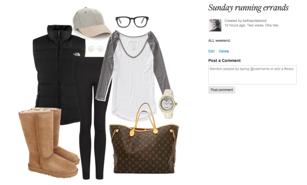 "My ideal ""Running errands"" ensemble. I have all of these items. Why do they look so shitty on me?"