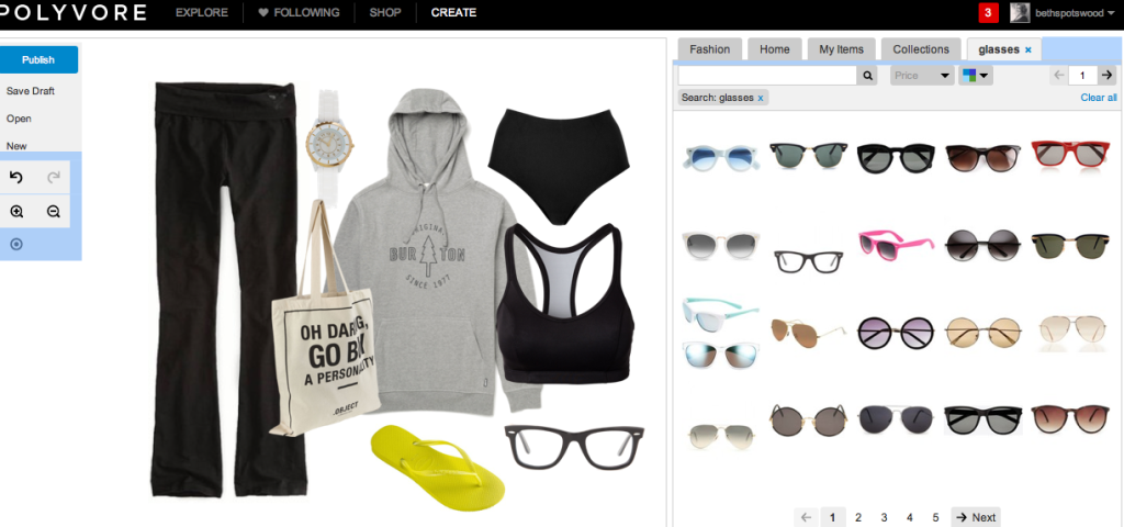 I created a Polyvore of what I'm wearing right now and Polyvore makes it look good! Even Spanx! IRL, I look horrible.