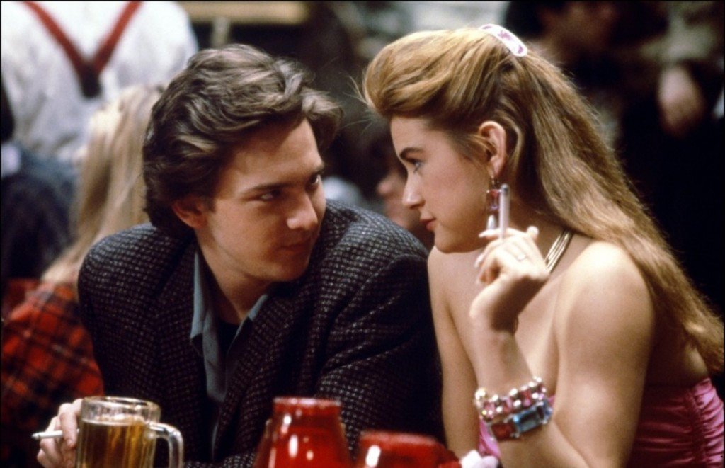 Screenshot from college classic, St. Elmo's Fire