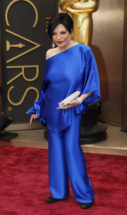 Lucille Two needs to wear a bra. (Photo: www.oscars.go.com)