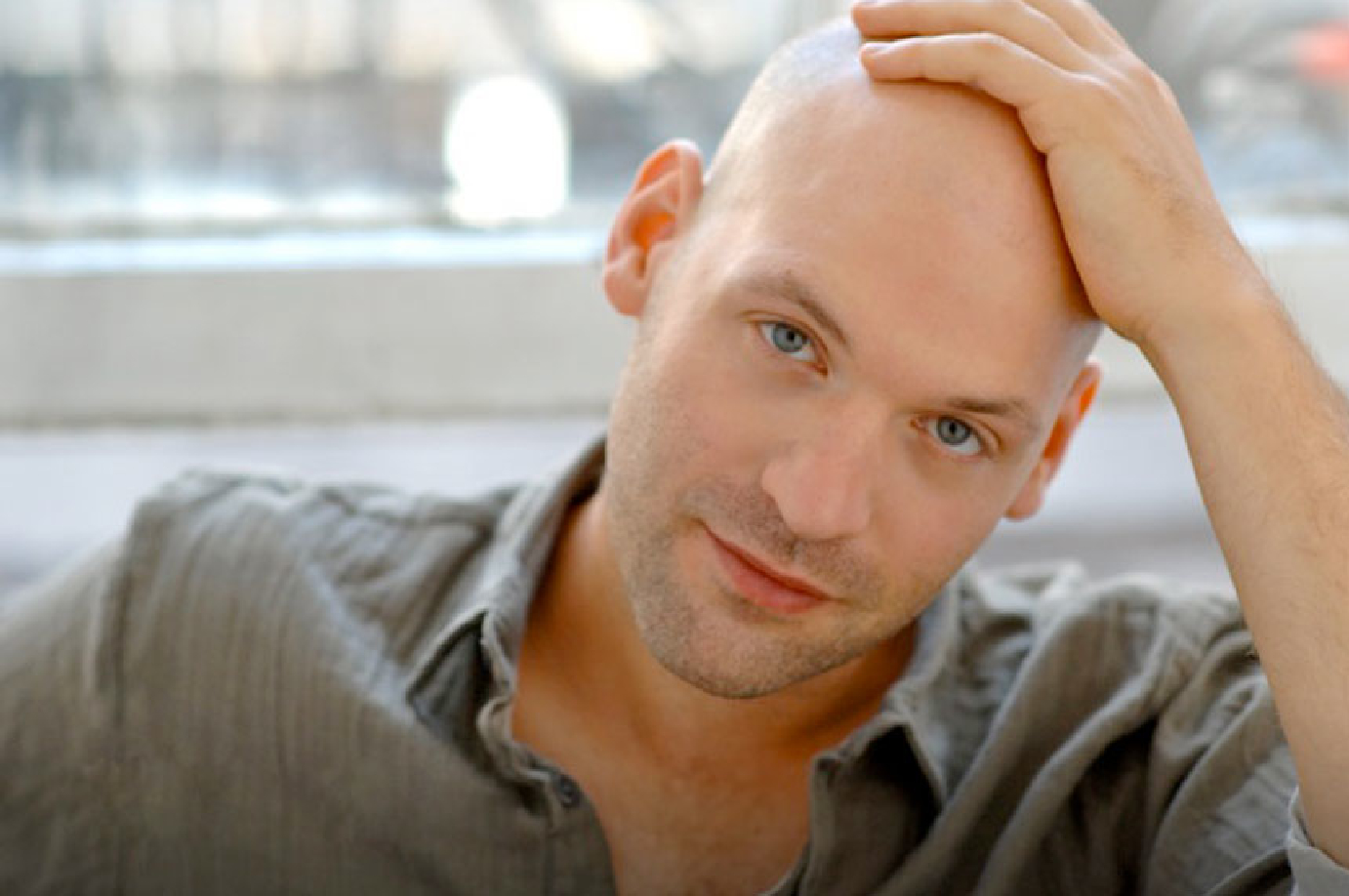 Let S Talk About Hot Bald Guys Slow News Day