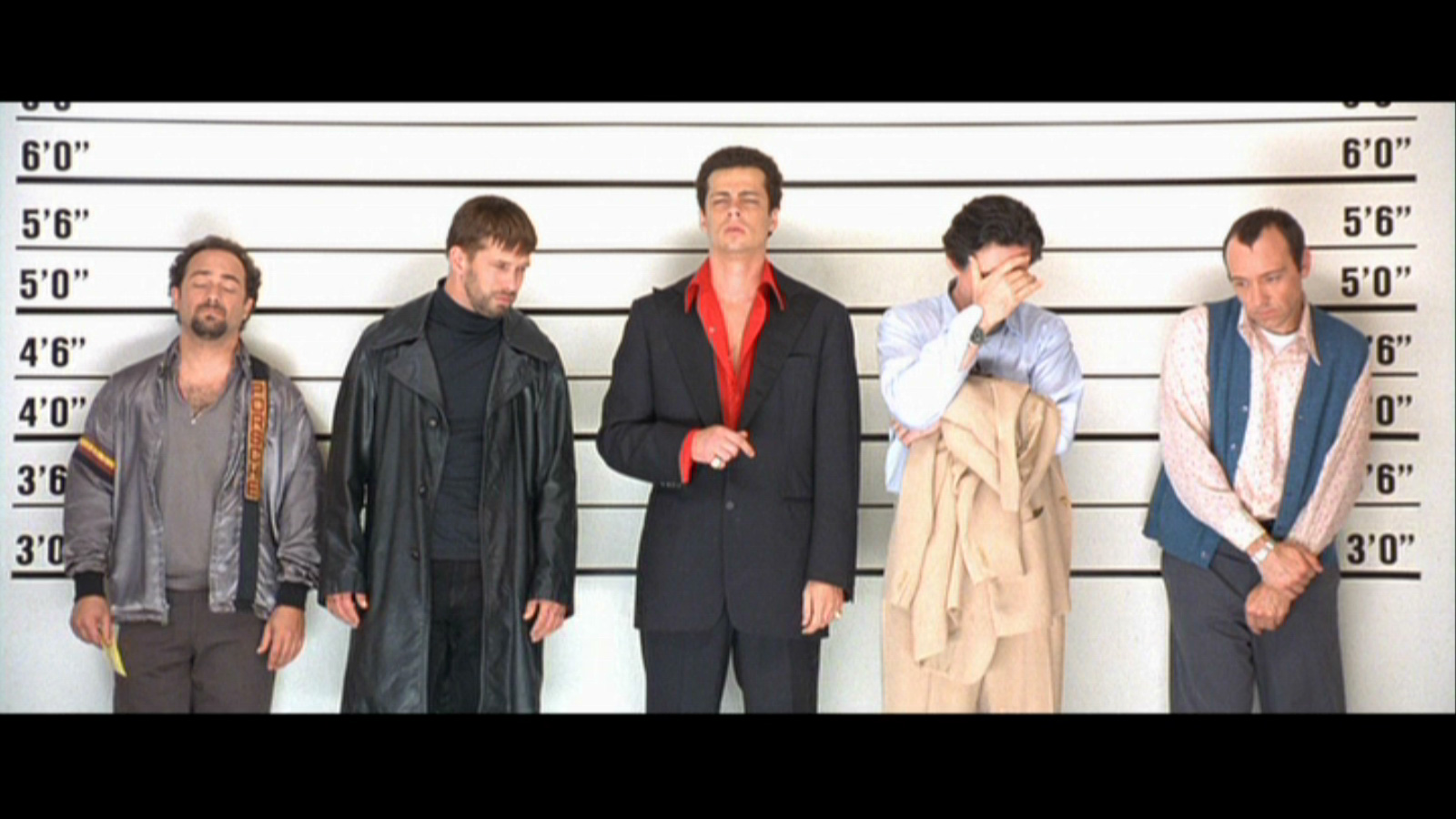 The Usual Suspects. Duh.