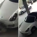 Let's discuss that guy caught having sex with a Porche