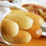 Olive Garden is obsessed with their own breadsticks